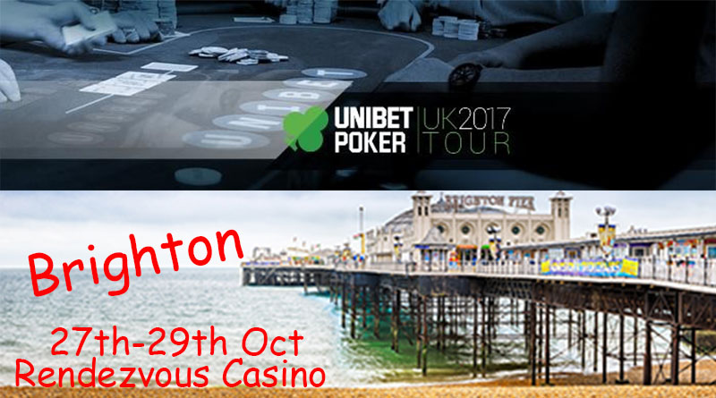 pic of brighton pier and unibet poker