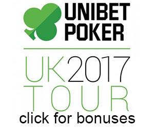 bonuses for unibet poker
