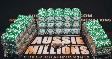 Aussie Millions Update