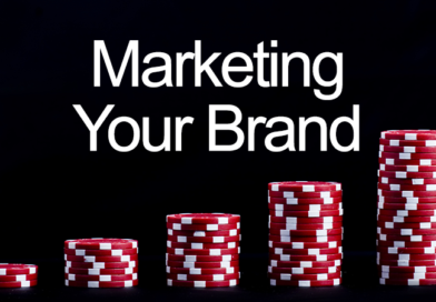 to show marketing with chip stack poker