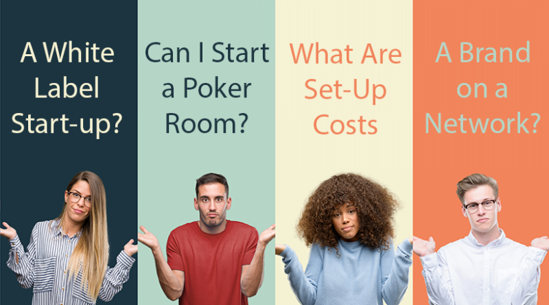 how to start a poker room
