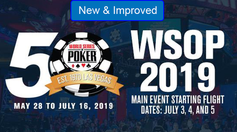 50th anniversary or the WSOP