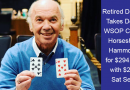 Retired dentist wins $294k on 2019 WSOP Circuit