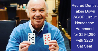 Retired Dentist wins WSOP Circuit Event
