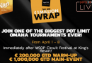 The Big Wrap – €1.2m Omaha festival