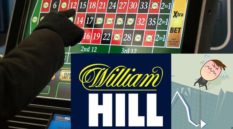 William Hill shares dip FOBT