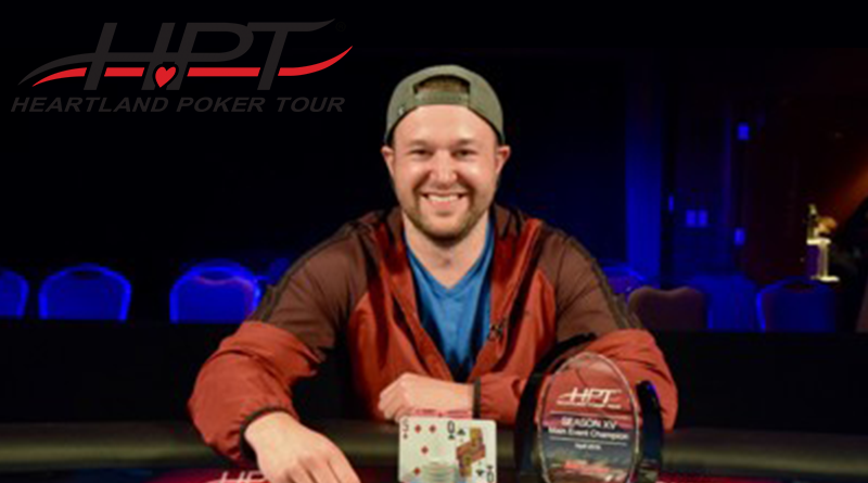 Wagner wins Heartland poker tour