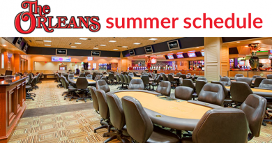 orleans casino poker room schedule