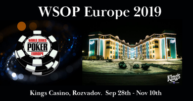 WSOP Europe at Kings Casino Rozvadov