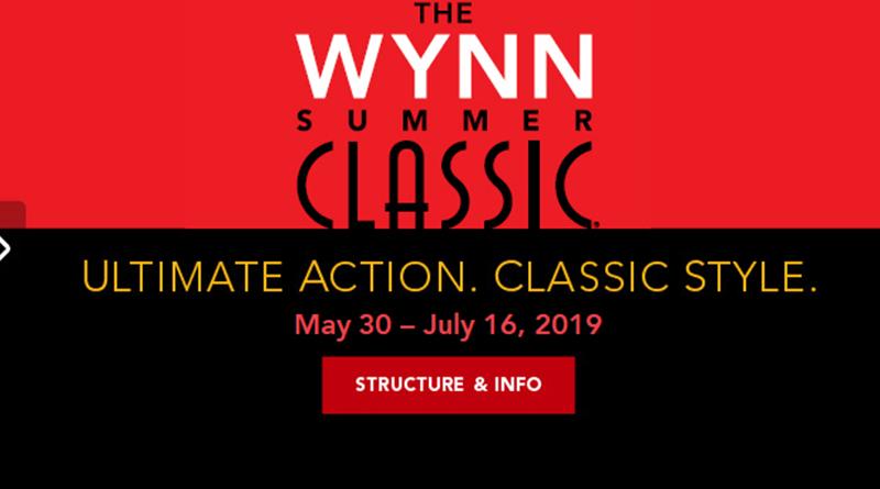 Wynn Summer Classic 2019 schedule is announced